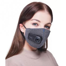 Xiaomi Purely Masker Anti Polusi Air Mask PM2.5 - HZSN001 - Gray