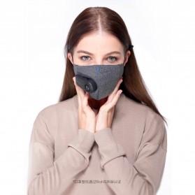 Xiaomi Purely Masker Anti Polusi Air Mask PM2.5 - HZSN001 - Gray - 2