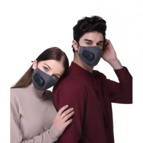 Xiaomi Purely Masker Anti Polusi Air Mask PM2.5 - HZSN001 - Gray - 3
