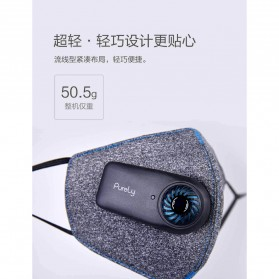 Xiaomi Purely Masker Anti Polusi Air Mask PM2.5 - HZSN001 - Gray - 6