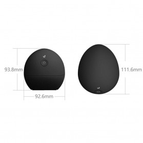 Xiaom LeFan Egg Fun Massager Alat Pijat Mini Elektrik Acupressure - Black - 10