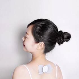 Xiaomi LF Magic Touch Alat Pijat Electrical Tense Pulse Therapy Massage Sticker Machine - LR-H006 - White - 4