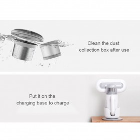 Xiaomi Mesin Penghisap Debu Vacuum Cleaner Kasur Baju Tungau Cloth Dust Mite Ultraviolet - KC101 - White - 7