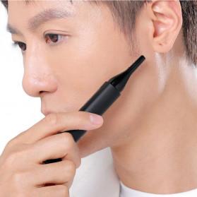 Xiaomi MSN Mason Nose Trimmer Cukur Bulu Hidung Elektrik Double Blade - H3 - Black - 4