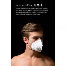 Xiaomi Purely Masker Anti Polusi Air Mask PM2.5 with Fan - HZSN002 - White - 4