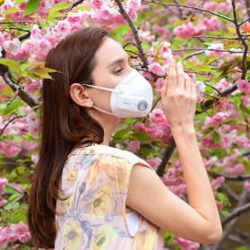 Xiaomi Purely Masker Anti Polusi Air Mask PM2.5 with Fan - HZSN002 - White - 6