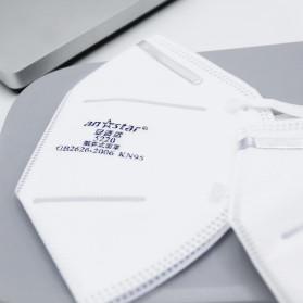 Xiaomi Purely Anstar Masker Anti Polusi Virus Corona KN95 Headloop Hijab 1 PCS - 5220 - White - 2