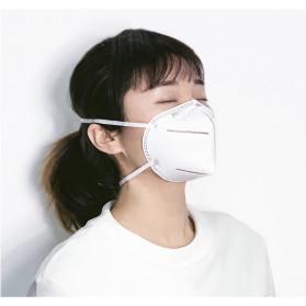 Xiaomi Purely Anstar Masker Anti Polusi Virus Corona KN95 Headloop Hijab 1 PCS - 5220 - White - 6