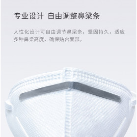 Xiaomi Purely Anstar Masker Anti Polusi Virus Corona KN95 Headloop Hijab 1 PCS - 5220 - White - 8