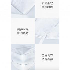Xiaomi Purely Anstar Masker Anti Polusi Virus Corona KN95 Headloop Hijab 1 PCS - 5220 - White - 9