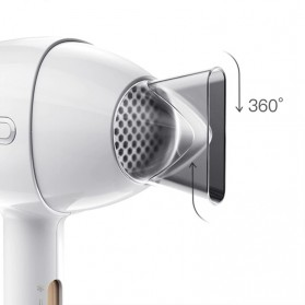Xiaomi Enchen Air Yingqu Anion Hair Dryer Pengering Rambut 1200W 220V - White - 4