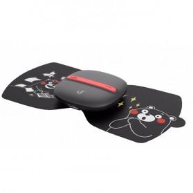 Xiaomi LF Leravan Magic Touch Alat Pijat Electrical Pulse Massage Cute Design - LR-H006-KUMA - Black - 2