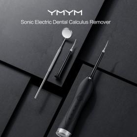 Xiaomi YMYM Peralatan Oral Sonic Electric Dental Calculus Remover Scraper - YC1 - Black - 2