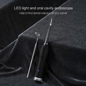 Xiaomi YMYM Peralatan Oral Sonic Electric Dental Calculus Remover Scraper - YC1 - Black - 5