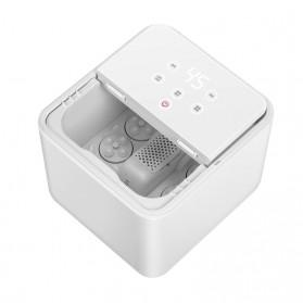 HITH X2 Smart Foot Massager Bath Alat Pijat Spa Kaki - ZMZ-X2 - White