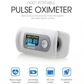 Xiaomi Yuwell Alat Pengukur Detak Jantung Kadar Oksigen Fingertip Pulse Oximeter - YX301 - White