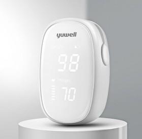 Xiaomi Yuwell Alat Pengukur Detak Jantung Kadar Oksigen Fingertip Pulse Oximeter - YX102 - White