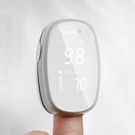 Xiaomi Yuwell Alat Pengukur Detak Jantung Kadar Oksigen Fingertip Pulse Oximeter - YX102 - White - 2