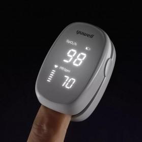 Xiaomi Yuwell Alat Pengukur Detak Jantung Kadar Oksigen Fingertip Pulse Oximeter - YX102 - White - 3