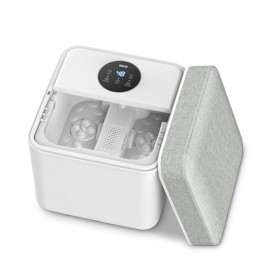 HITH Alat Pijat SPA Kaki Intelligent Foot Bath Massage Heating Temperature Cushion - ZMZ-X6 - White