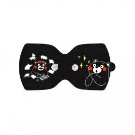 LF Aksesoris Replacement Electrode Pad Sticker Cute Design 2 PCS for LF Magic Touch - LR-H008-KUMA - Black