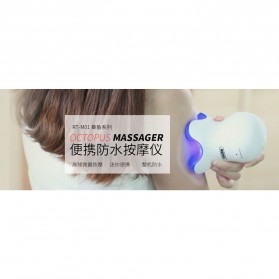 Remax Octopus Massager High Frequency Vibration / Alat Pijat - RT-M01 - White - 4