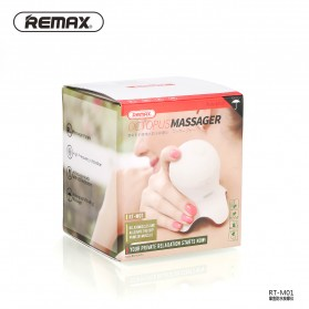 Remax Octopus Massager High Frequency Vibration / Alat Pijat - RT-M01 - White - 5