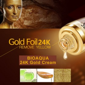 Bioaqua Serum Wajah 24K Gold Essence 30ml - Golden - 6