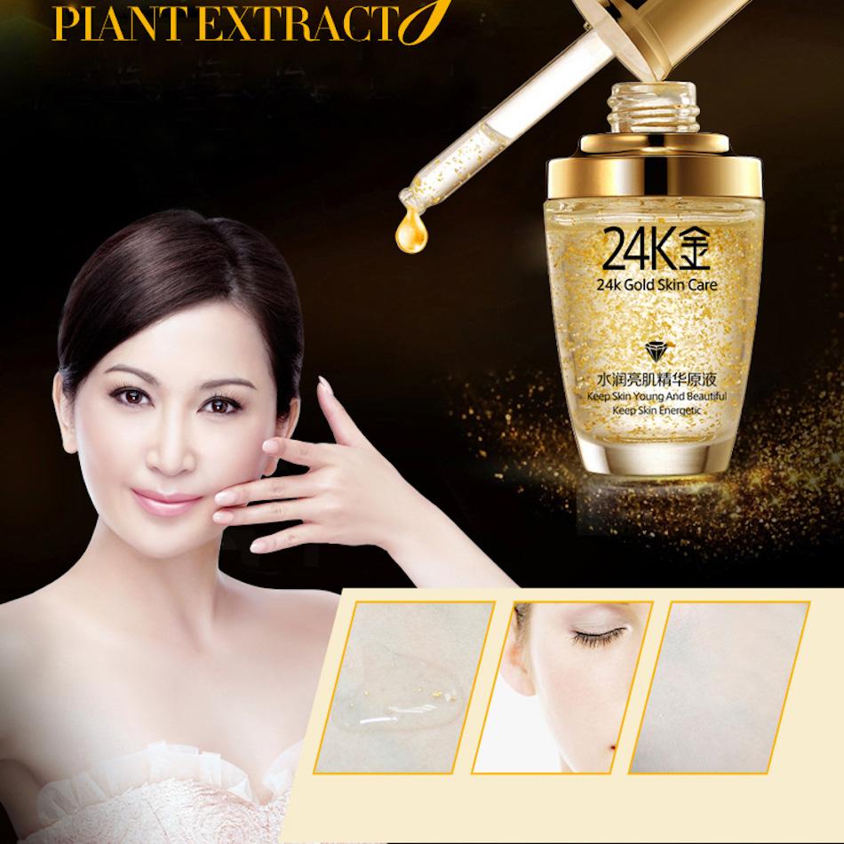 Bioaqua Serum Wajah 24k Gold Essence 30ml Golden Jakartanotebook Com