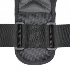 BUBM Tali Korektor Postur Punggung Body Harness Hump Belt Size XL - JZD-XL - Black - 5
