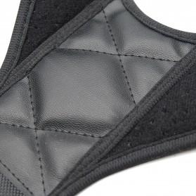 BUBM Tali Korektor Postur Punggung Body Harness Hump Belt Size XL - JZD-XL - Black - 6