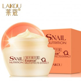LAIKOU Cream Wajah Acne Scar Tratment Snail Nutrition 50g - White