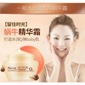 LAIKOU Cream Wajah Acne Scar Tratment Snail Nutrition 50g - White - 2