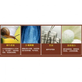 LAIKOU Cream Wajah Acne Scar Tratment Snail Nutrition 50g - White - 3