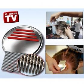 Metal Nit Lice Comb / Sisir Kutu - Silver - 2