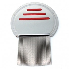 Metal Nit Lice Comb / Sisir Kutu - Silver - 4