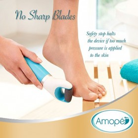 Amope Velvet Soft Pedi Perfect Pedicure Kaki Elektrik - WJ00404 - White