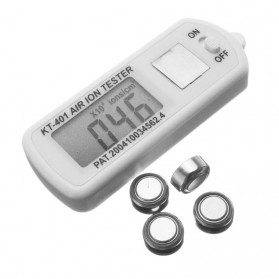 Health Care Car Air Ion Counter Tester /  Pengukur Ion KT-401 - White