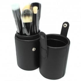 Kuas Make Up 12 Set dengan Case - MAG5171 - Black - 3