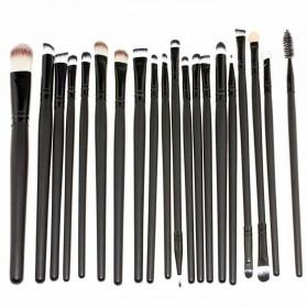 Cosmetic Make Up Brush 20 Set / Kuas Make Up - Black - 3
