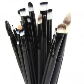 Cosmetic Make Up Brush 20 Set / Kuas Make Up - Black - 5