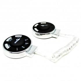 Slimming Stovepipe Thin Waist Belt Rejection Fat - Alat Pijat Pelangsing - Black