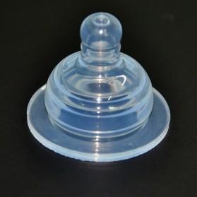 Replacement Baby Bottle Nipple - LK-2700D / Karet Dot - Transparent