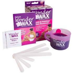 Deluxe Wonder Wax Painless Hair Removal