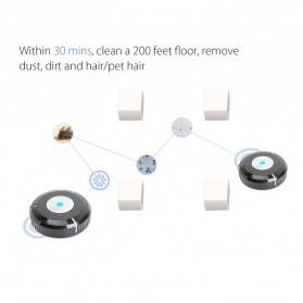 Clean Roobot Sweeping Cleaning Machine / Mesin Pembersih Debu - HAC891 - Black - 9