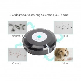 Clean Roobot Sweeping Cleaning Machine / Mesin Pembersih Debu - HAC891 - Black - 12