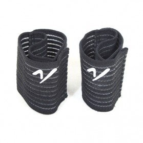 Sport Jacquard Bandage Wrist Basketball / Pelindung Pergelangan Tangan - Black