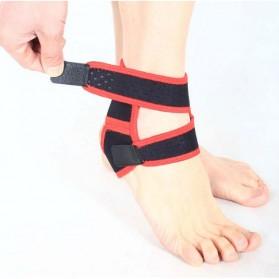 Sport Brace Ankle Support / Pelindung Engsel Kaki - Black - 2