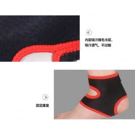 Sport Brace Ankle Support / Pelindung Engsel Kaki - Black - 5