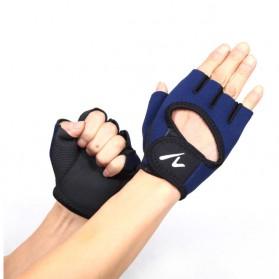 Sarung Tangan Fitness - YZ-A10 - Blue